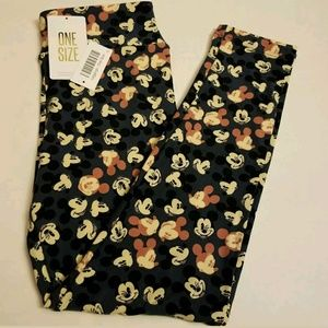 NWT Lularoe OS Leggings DISNEY MICKEY MOUSE Blue